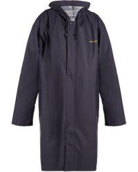 Vetements - Oversized Hooded Raincoat - Lyst