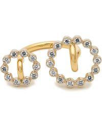 Charlotte Chesnais - System Diamond & Yellow-gold Ring - Lyst