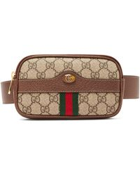 f24a60df2f2 Gucci - Ophidia Gg Supreme Iphone® Belt Bag - Lyst