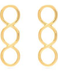 JW Anderson - Twisted Earrings - Lyst