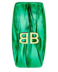 Balenciaga - Logo Single Clip Earring - Lyst