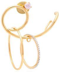 Ana Khouri - Camille 18kt Gold & Diamond Single Earring - Lyst