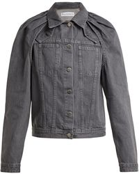 JW Anderson - Floating Sleeved Denim Jacket - Lyst