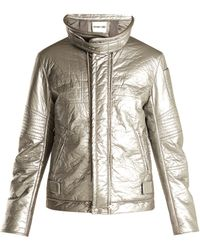 Helmut Lang - High-neck Quilted Jacket - Lyst