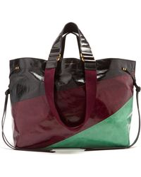 Isabel Marant - Wardy Panelled Leather Bag - Lyst