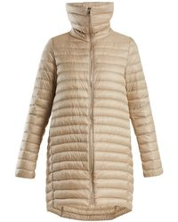 Moncler - Citrinelle Funnel Neck Quilted Coat - Lyst