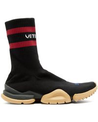 Vetements - X Reebok High Top Sock Trainers - Lyst