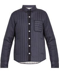 Moncler Gamme Bleu - Mylon Patch Pocket Quilted Down Jacket - Lyst