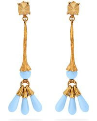 Valentino - Bead Embellished Earrings - Lyst