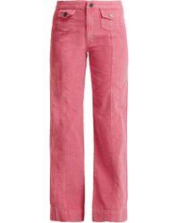 M.i.h Jeans - Pantalon ample en velours côtelé Paradise - Lyst