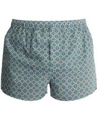 Derek Rose - Ledbury Cotton Boxer Shorts - Lyst