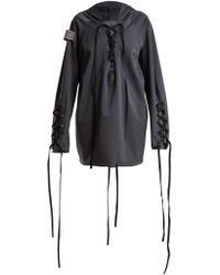 Charli Cohen - Renegade Lace-up Shell Jacket - Lyst