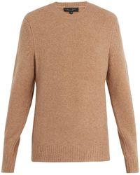 Rag & Bone   Charles Crew-neck Wool-blend Sweater   Lyst
