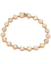Irene Neuwirth - 18kt Rose Gold & Crystal-opal Bracelet - Lyst