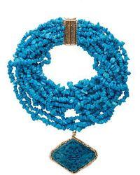 Rosantica By Michela Panero - Fato Multi-strand Stone Necklace - Lyst