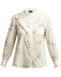A.P.C. - Polly Blouse - Lyst