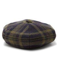 Sonia Rykiel - Tartan Wool Beret - Lyst