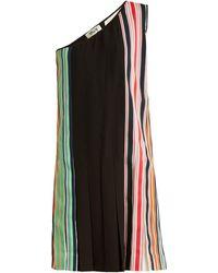 Diane von Furstenberg - One-shoulder Pleated Dress - Lyst