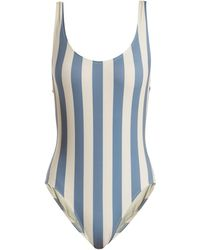 Solid & Striped   The Anne-marie Striped Swimsuit   Lyst