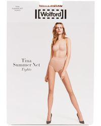 Wolford - Tina Summer Net Tights - Lyst