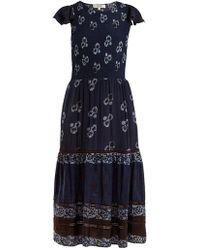 Sea - Malaya Floral-print Midi Dress - Lyst