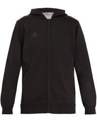 adidas Originals - - Hooded Jersey Sweatshirt - Mens - Black - Lyst