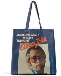Gucci - Elton John Leather Tote Bag - Lyst