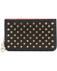 Christian Louboutin - Panettone Key Ring Leather Cardholder - Lyst