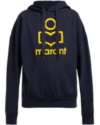 Étoile Isabel Marant Mansel Logo Front Hooded Sweatshirt