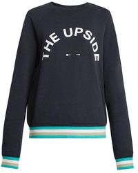 The Upside - Sid Cotton Jersey Performance Sweatshirt - Lyst