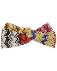 Missoni - Zigzag Knitted Headband - Lyst