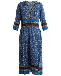 Sea - Tallulah Floral-print Silk Dress - Lyst