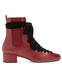 Altuzarra - Leather Chelsea Boot - Lyst