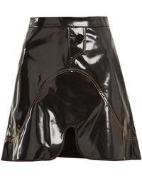 Ellery - Milky Way Pvc Mini Skirt - Lyst