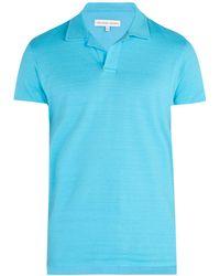 Orlebar Brown - Felix Cotton Polo Shirt - Lyst