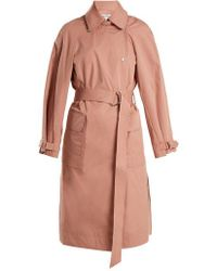 Elizabeth and James - Weston Tie-waist Cotton-blend Trench Coat - Lyst