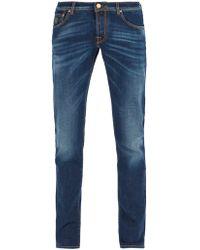 Jacob Cohen - Mid Rise Slim Leg Jeans - Lyst