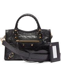 Balenciaga - Classic City Nano Leather Bag - Lyst