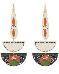Isabel Marant - Ma Vallee Resin Earrings - Lyst
