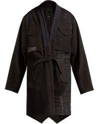 Maharishi - Ma65 Kimono Style Cotton Blend Jacket - Lyst