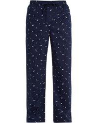 Derek Rose - Nelson Cotton-batiste Pyjama Trousers - Lyst
