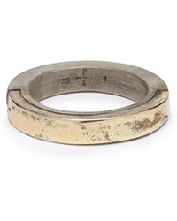 Parts Of 4 - Sistema 18kt Gold-plated & Sterling-silver Ring - Lyst