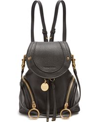 See By Chloé - Olga Grained Leather Backpack - Lyst