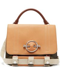 JW Anderson - Disc Leather Satchel Bag - Lyst