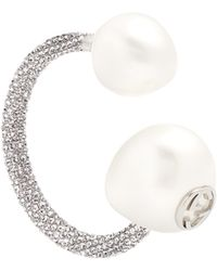 Gucci | Crystal-embellished Pearl-effect Earring | Lyst