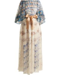 Zandra Rhodes - Archive Ii The 1973 Seashell Spiral Gown - Lyst