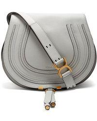 Chloé - Marcie Medium Saddle Bag - Lyst