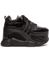 Marques'Almeida - Platform Leather Trainers - Lyst