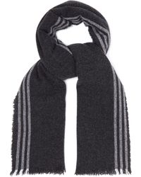 Begg & Co - Beaufort Washed Wool And Cashmere Blend Scarf - Lyst