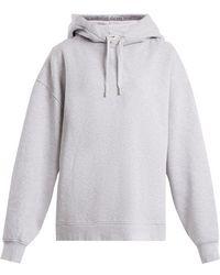 Acne Studios - Yala Cotton-jersey Hooded Sweatshirt - Lyst